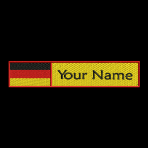 German Flag & Name